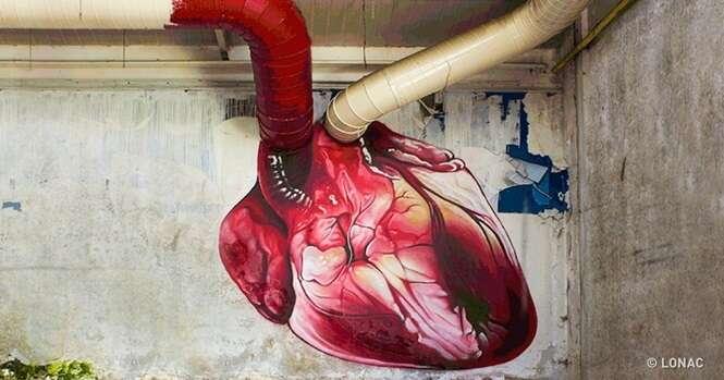 Artes de rua das mais impressionantes que já vimos por aí