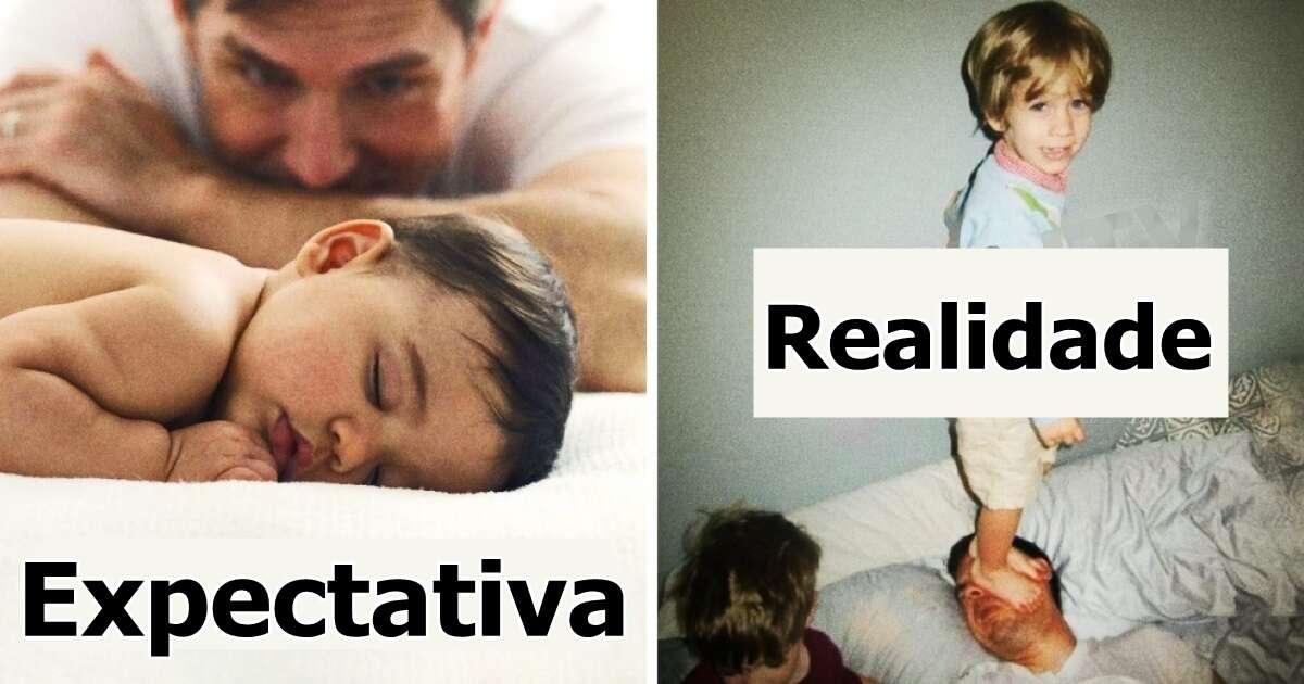 Imagens que só quem é pai ou mãe vai entender