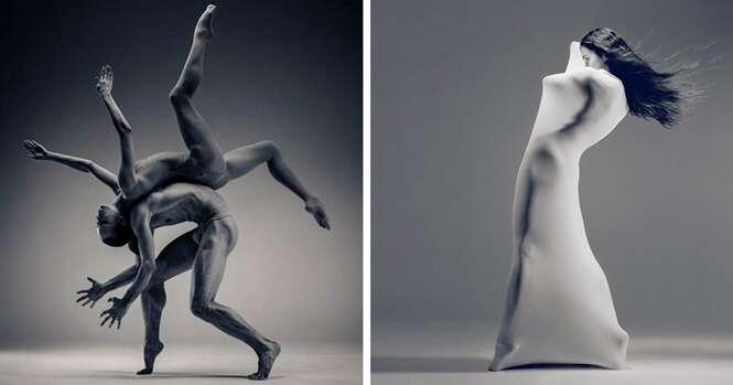Fotógrafo ucraniano registra imagens incríveis de bailarinos em movimento