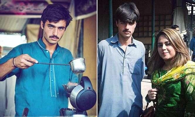 Vendedor de chá se torna modelo após foto sua viralizar em redes sociais