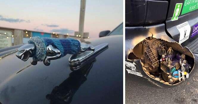 Os mais criativos donos de carros de todos os tempos