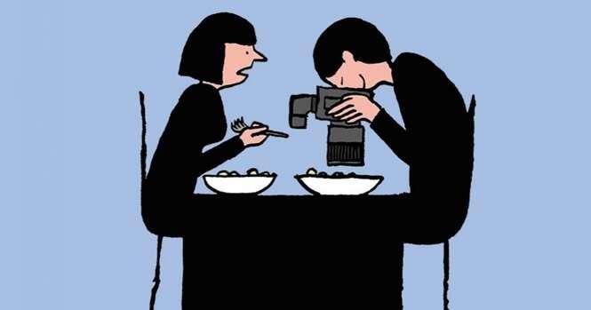 Ilustrações que retratam o mundo moderno com sarcasmo