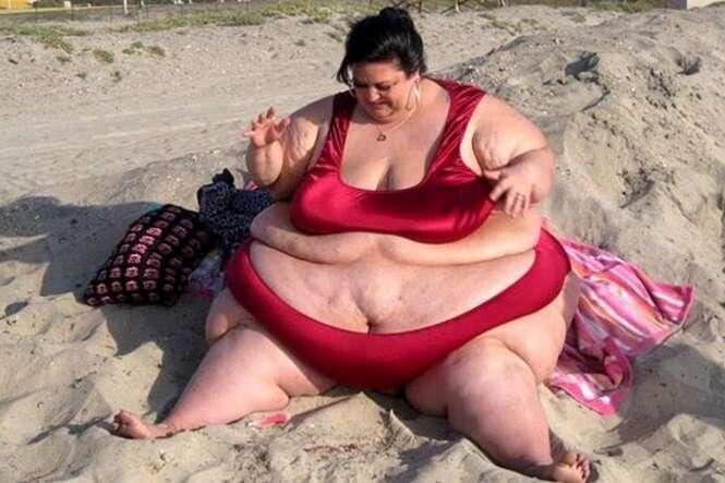 Mulher mais gorda do mundo perde muito peso graças à sua vida íntima