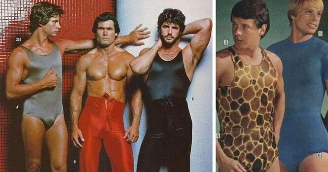 Imagens mostrando por que a moda masculina dos anos 70 não deve voltar jamais
