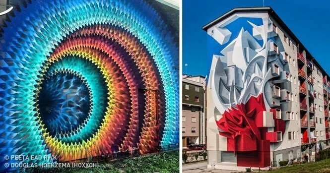 Artes urbanas que vão te levar para outra dimensão