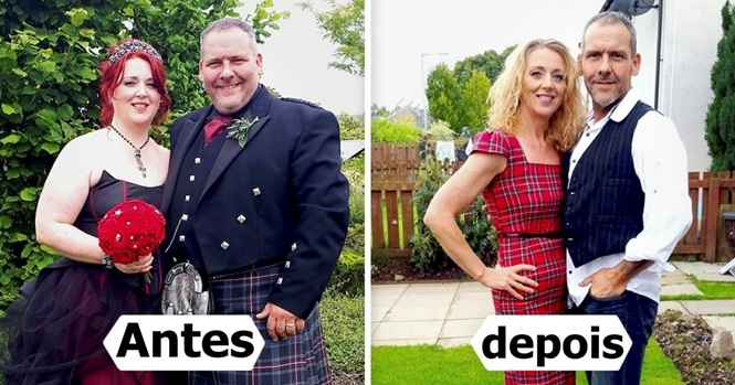 Casais que perderam peso juntos