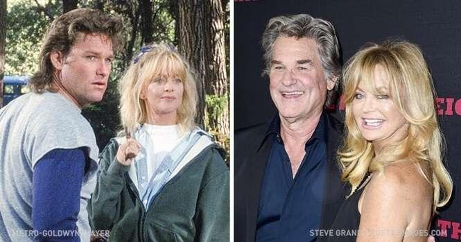 Casais famosos cujo amor nasceu nas telas e foi para a vida real