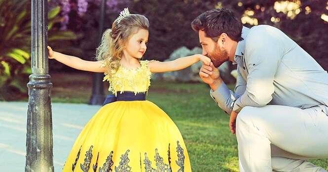 Fotos de pais e filhas que vão te emocionar