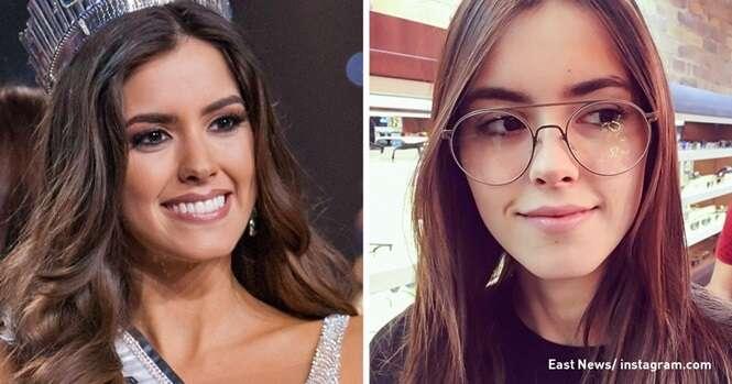 Como são as mais belas mulheres na passarela e na vida real