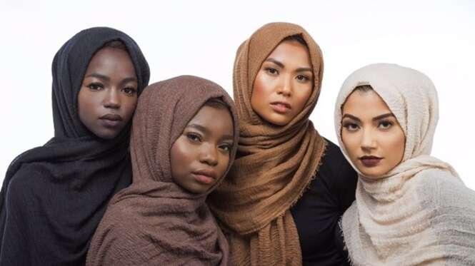 Designer mulçumana cria linha de Hijab para todos os tons de pele