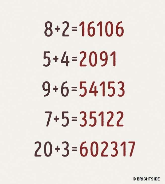 Se você conseguir resolver esta equação matemática é porque você é realmente um gênio