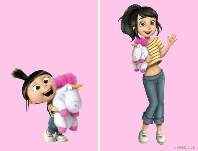 Assim seriam alguns de nossos personagens favoritos se fossem adultos