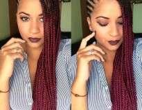 17 negras que ficaram simplesmente lindas de tranças