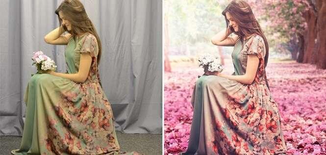 Antes e depois do Photoshop: 11 imagens que sofreram transformações impressionantes