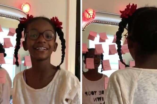 Isto foi o que esta mãe fez após sua filha ter sido intimidada devido à sua cor