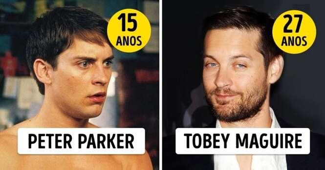 Essas são as verdadeiras idades destes atores quando interpretaram papéis de adolescentes
