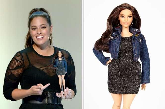 Modelo plus size ganha versão de Barbie inspirada nela
