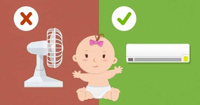 Maneiras de ajudar seu filho a aguentar o calor
