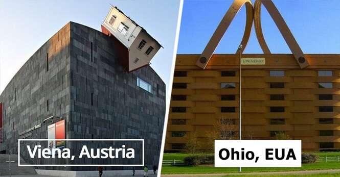 Os edifícios mais estranhos, criativos e originais de todo o mundo