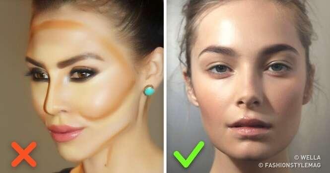 Tendências de cabelo e maquiagem que devemos deixar para trás em 2017