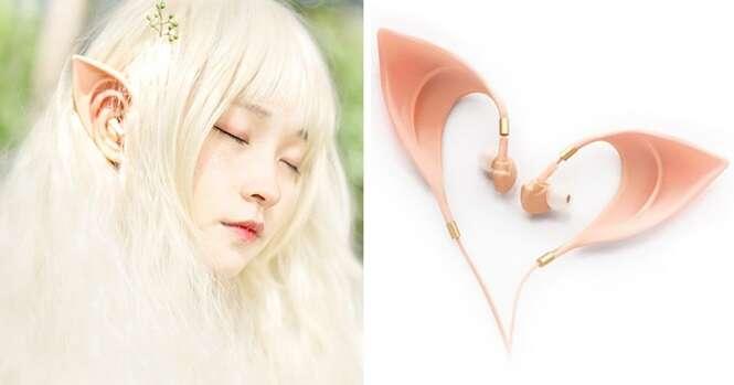 Estes fones de ouvido lhe transformarão em um elfo