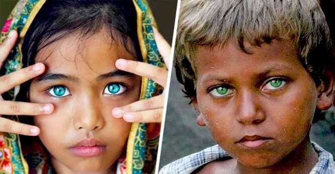 Fotos dos mais belos e impressionantes olhos do mundo