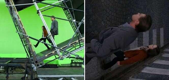 Surpreendentes antes e depois envolvendo cenas famosas