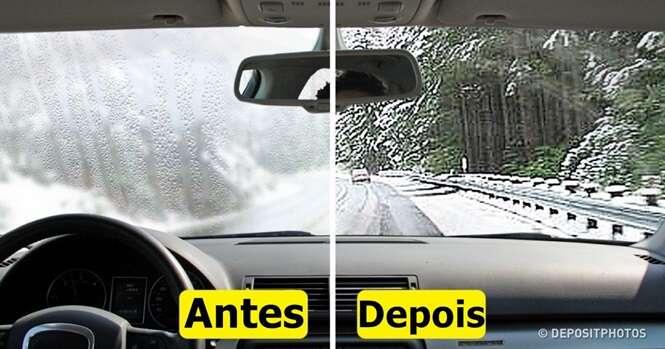 Como impedir que o vidro do seu carro embace