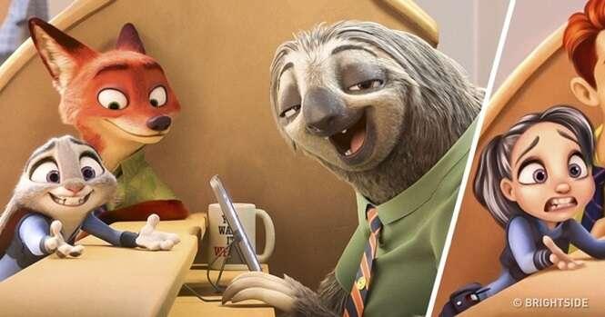 Como seriam animais de filmes animados se fossem pessoas