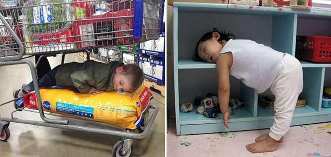 Crianças com muita dificuldade de dormir corretamente