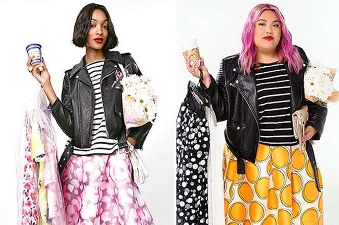 Mulheres plus-size recriam anúncios para provarem que a indústria da moda está errada