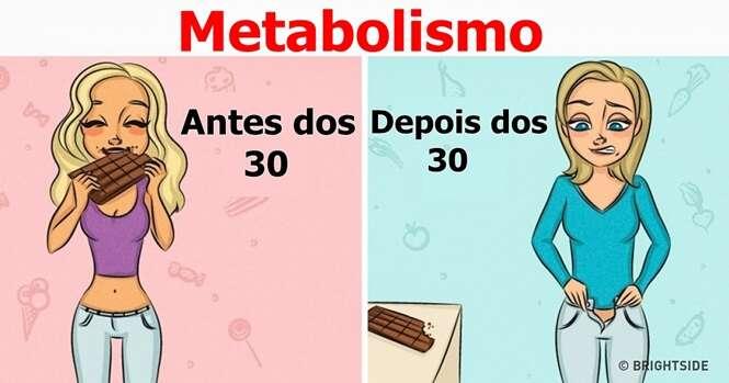 Conselhos para evitar o ganho de peso com a idade