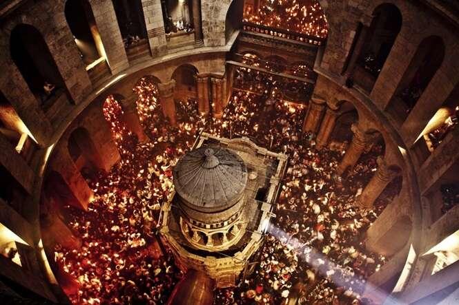 Depois de séculos, a sepultura de Jesus Cristo foi aberta pela primeira vez