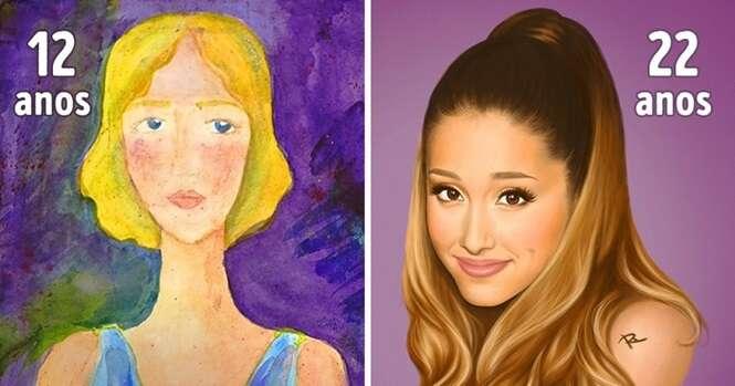 Estes são os resultados da dedicação de ilustradores para aprimorarem seus trabalhos
