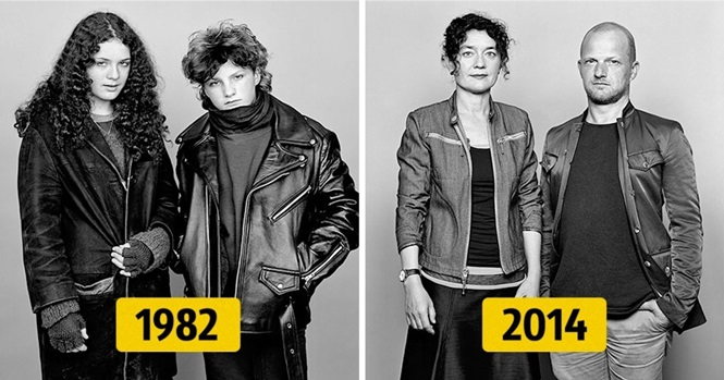 Projeto fotográfico de 30 anos mostra mudanças em casais com o passar do tempo