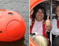 Esta gigante e estranha bola pode lhe salvar dos maiores desastres, sabia?