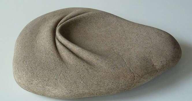 Este escultor espanhol domina a arte de amolecer pedras