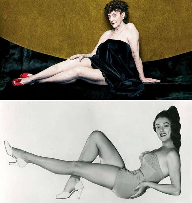 Varias décadas depois, fotógrafo faz ensaio com modelos da Playboy