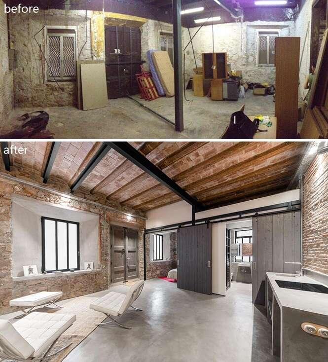 Esta antiga oficina de carpintaria ganhou um visual incrível após ser reformada