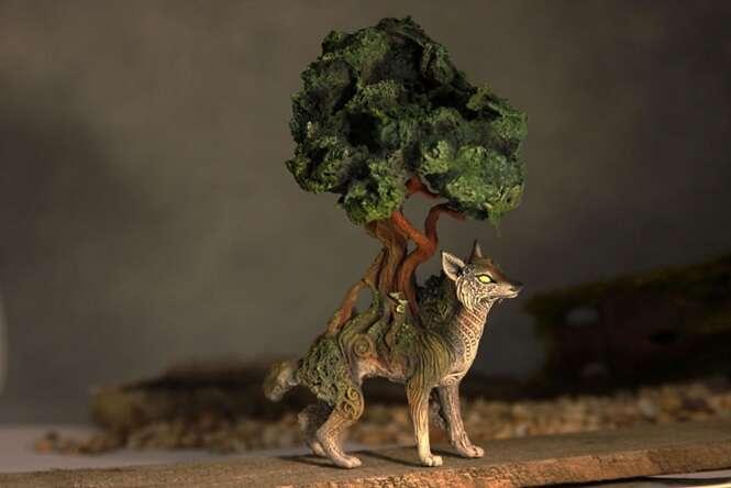 Belíssimas esculturas de argila e veludo criadas por artista russo