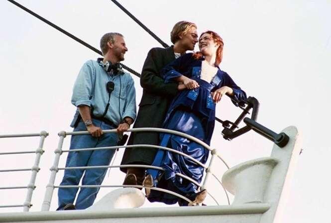"""Fotos dos bastidores mostrando """"Titanic"""" de um jeito que você nunca viu"""
