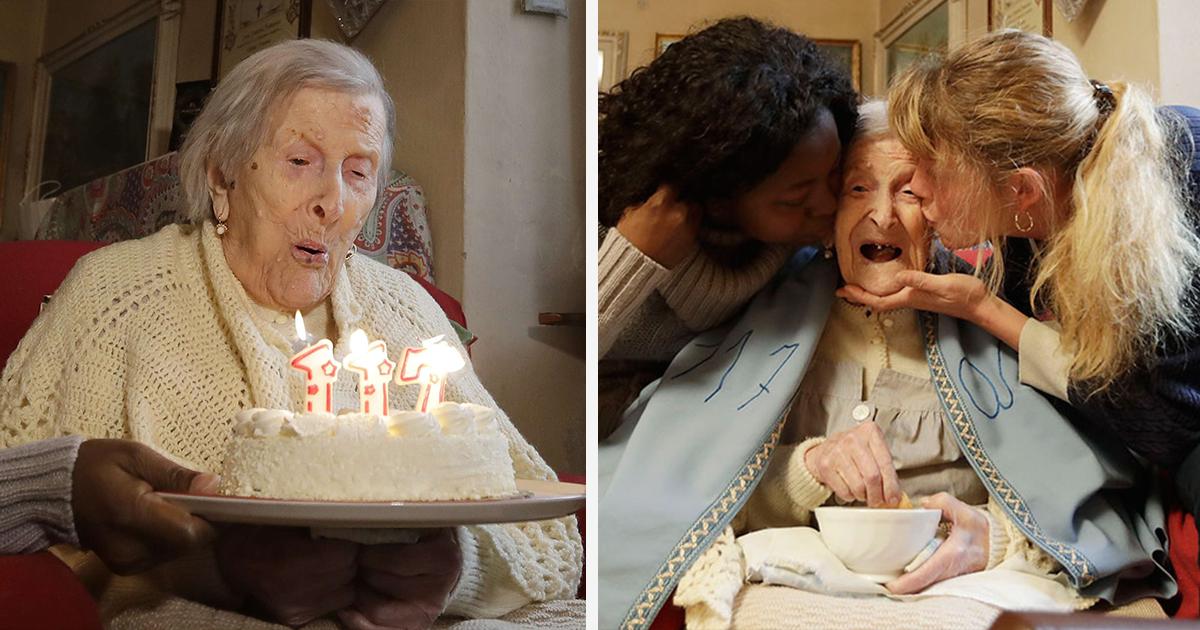 Última pessoa do mundo nascida em 1899 comemora seu 117º aniversário