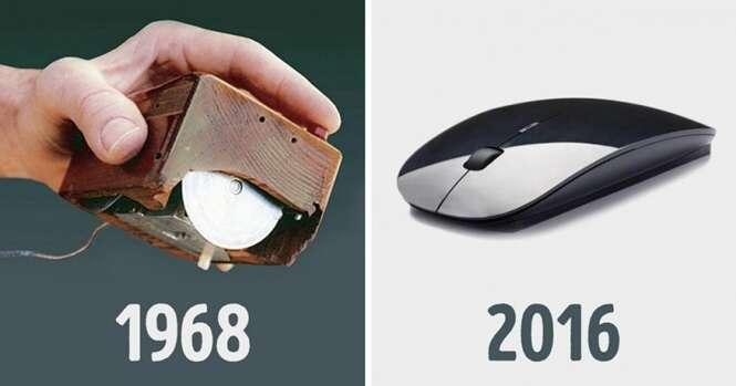Veja como alguns objetos conhecidos mudaram com o passar dos anos