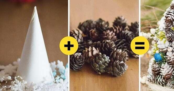Ideias interessantes de árvores de Natal alternativas que você pode fazer para sua casa