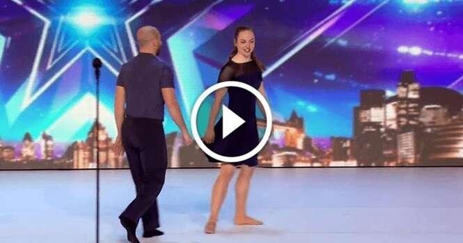 Vídeo: este casal dançou como ninguém, ganhou os aplausos do júri e levou a plateia à loucura