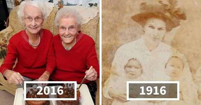Gêmeas comemoram seu aniversário de 100 anos e revelam segredo de suas vidas longas