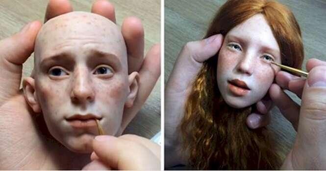 Artista faz bonecos incríveis que parecem ser reais
