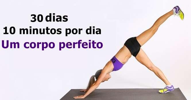 Exercícios simples que irão transformar seu corpo em apenas 30 dias