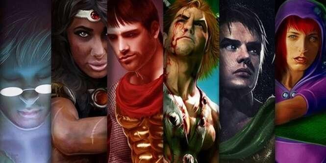 """Ilustrador brasileiro faz versão realista de personagens de """"A Caverna do Dragão"""""""