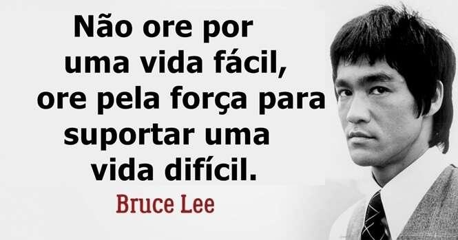 Princípios que Bruce Lee usava para fortalecer o próprio espírito
